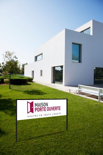 Panneaux immobiliers directionnels maison porte ouverte for Porte ouverte maison